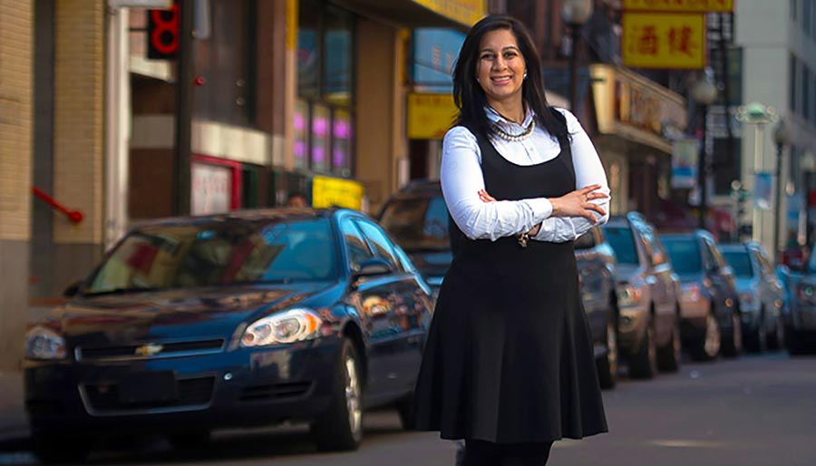 Manmeet Kaur Desai '14, immigration law alumna