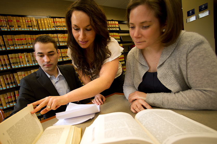 Law review students improve their research and writing skills at New England Law | Boston.