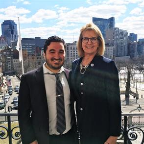 New England Law | Boston 2L Student Dylan Lang Named 2019 Rappaport Fellow by Boston College Law School